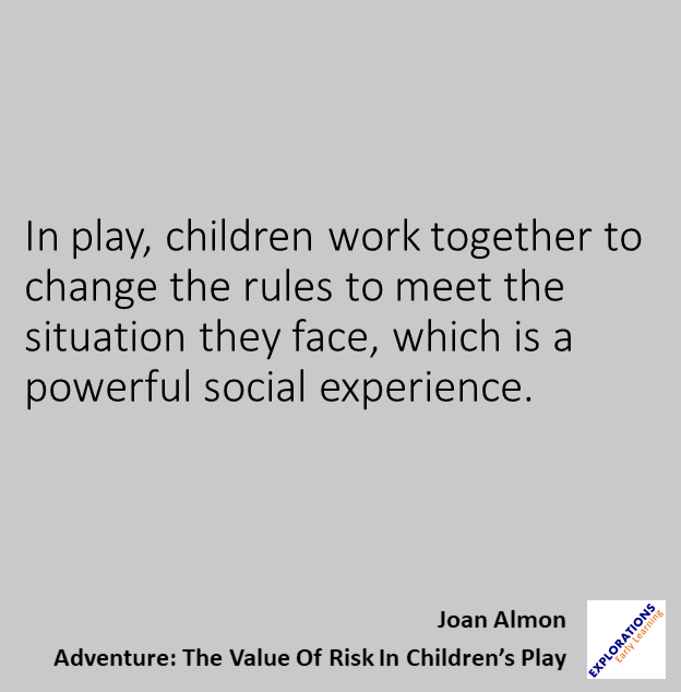 Childrens Quotes Awesome Adventure The Value Of Risk In Children's Play Quote 48
